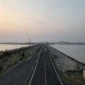 児島湾締切堤防「岡山平野を守る海水と淡水の境目」